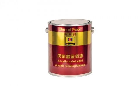 和平鸽 丙烯酸 金箔漆 3kg