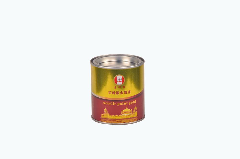 鑫耐 丙烯酸 金箔漆 0.4kg