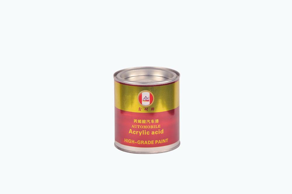 鑫耐 丙烯酸 汽车漆 0.4kg 红