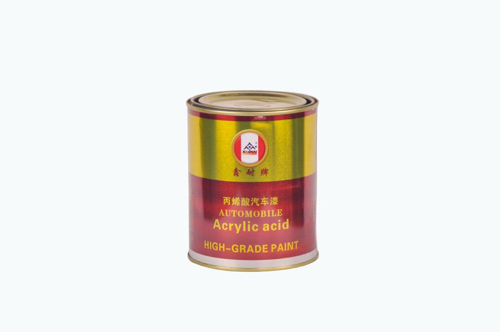鑫耐 丙烯酸 汽车漆 0.8kg 红